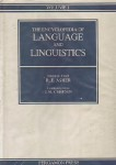 The Encyclopedia of Language and Linguistics. In 10 volumes