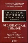 The Blackwell Encyclopedia of Management. In 12 volumes. Volume 11. Organizational Behavior