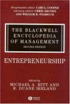 The Blackwell Encyclopedia of Management. In 12 volumes. Volume 3. Entrepreneurship