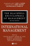 The Blackwell Encyclopedia of Management. In 12 volumes. Volume 6.  International Management