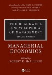 The Blackwell Encyclopedia of Management. In 12 volumes. Volume 8. Managerial Economics